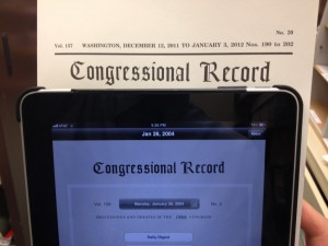 Congressional Records